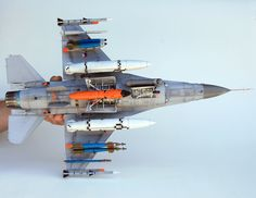 1/32 F-16 MLU - Converted from 1/32 Academy Sufa