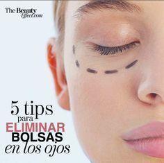 Tips para eliminar las bolsas en los ojos.