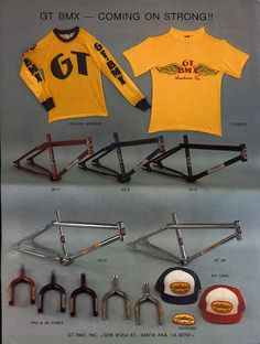 RAINER'S BIKE SHOP +++ Raw 80s BMX Old School Parts