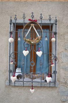 Decorazioni natalizie a Rango, Trentino