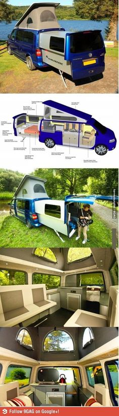 Volkswagen Transporter with a Doubleback modification
