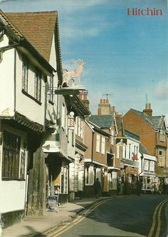 Hitchin, Hertfordshire ~ This is about five minutes away from where we lived. Places To Travel, Places To See, Stevenage, Derbyshire, England Uk, British Isles, Study Abroad, Urban Design, Great Britain