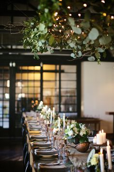 An elegant dinner party from Make Tribe
