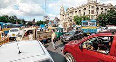 Consecutive summer #rally in #Calcutta or #Kolkata #city