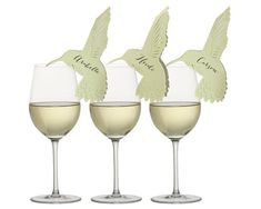 Hummingbird Place Cards by TimelessPaper on Etsy, $0.99