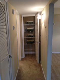 A linen closet? In a 1/1? UNHEARD OF, right? WE GOT 'EM.