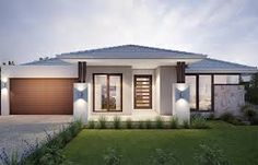 single story home facades - Google Search