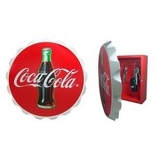 Coca-Cola Key Box with Bottle