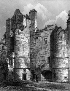 Balvenie Castle, Banffshire