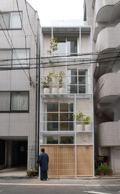 Urban Lab Global Cities (ULGC): Tower Machiya by Atelier Bow-Wow