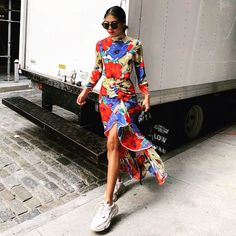 Our street style look with our Lucy dress 💐💐💐 New York Street Style, Street Style Looks, Rixo London, Wordpress, Lucy Dresses, Funky Outfits, Black Friday Shopping, Famous Brands, Casual Looks