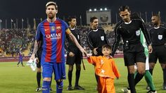 Remember the Afghan kid who became a internet sensation when his picture wearing a Plastic bag with Messi's name on it went viral; he met ...