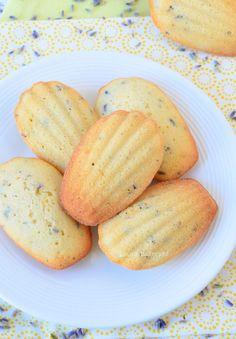 Lavendel citroen madeleines | Laura's Bakery | Bloglovin'