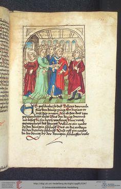 Cod. Pal. germ. 85: Antonius von Pforr: Buch der Beispiele (Schwaben, um 1480/1490), Fol 170r