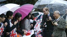 prince william visits japan | Prince William in Tokyo