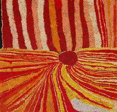 """""""Mt Aloysius - NWWNU08667""""    Nyankulya Walyampari Watson painting of  'Mt Aloysius' - 95 x 96cms NWWNU08667"""