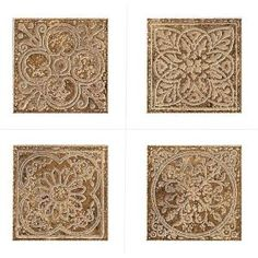 MARAZZI, Montagna Belluno 6 in. x 6 in. Porcelain Embossed Deco (Receive 1 of 4 Random Decos - Sold as Singles), UG6M at The Home Depot - Mobile