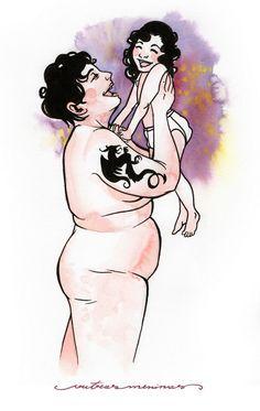 Com ilustrações sensíveis, Manu Cunhas dá voz a mulheres que possuem uma relação difícil com o corpo e de aceitação. Conheça o projeto Outras Meninas!