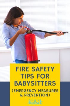 Fire Safety Tips For Babysitters (Emergency Measures & Prevention) Home Safety, Child Safety, Family Safety, Parenting Humor, Parenting Advice, Fire Safety Tips, Fire Prevention, Disaster Preparedness, Kids Nutrition