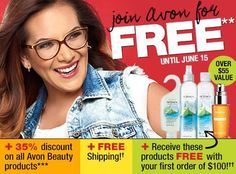 DO YOU HAVE AN AVON LADY? NOW RECRUITING IN CANADA ✔FREE to Register On My Team. ✔Get everything you need to get started ✔35% Discount on Beauty & Jewelry Products- (LIMITED TIME OFFER STARTS TODAY) ✔15% Discount on Fashion & Home ✔One on One Coaching & Training (16 years experience) Message me or join my group for more information https://www.facebook.com/groups/494959917352151/ Don't want to sell- I can ship AVON anywhere in CANADA!