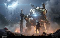 Titanfall 2 isn't just a very good video game, it's also a very pretty one, with some of the best character, mech and environment design around. So let's take a look at where all that stuff came from.