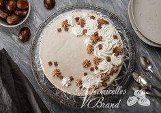 Rezepte - Vermicelles Brand Gelatine, Desserts, Whipped Cream, Cacao Powder, Food, Recipes, Deserts, Dessert, Postres