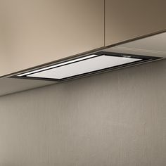 Hidden is the concealed extractor hood of Elica offering new design solutions in kitchens with a minimalist style. Hidden offers excellent performance, with extraction up to 475 cubic metres. It is available in the stainless steel and stainless steel/white glass finishes, with LED diffused lighting and touch controls. With Hidden, total efficiency is elegantly enclosed in the cabinet.