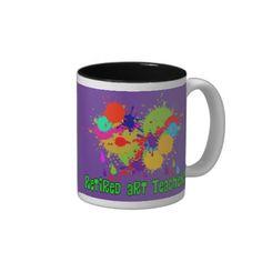 Retired Art Teacher Gifts Coffee Mug