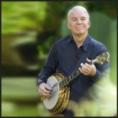 Steve Martin- Amazing banjo player and bluegrass music ambassador