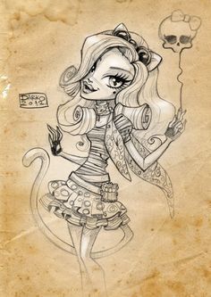 Catrine DeMew/ Monster High by *darkodordevic on deviantART