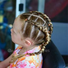 Best Wedding Hairstyles for Flower Girls – Braids – Makeup, Nails and Beauty – Grandcrafter – DIY Christmas Ideas ♥ Homes Decoration Ideas Easy Toddler Hairstyles, Cute Little Girl Hairstyles, Kids Braided Hairstyles, Flower Girl Hairstyles, Best Wedding Hairstyles, Toddler Hair Dos, Hair Kids, Natural Hairstyles, Girl Hair Dos