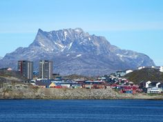 Sermitsiaq (Saddle) Mountain forms a backdrop for Nuuk, capital of Greenland. Norway, Mount Everest, Backdrops, Places To Visit, Italy, Vacation, Mountains, World, Tours