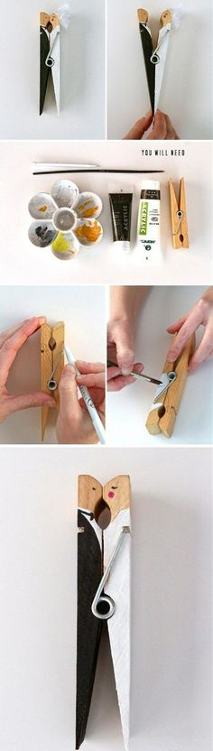 13 DIY Clothespin Crafts That Will Blow Your Mind