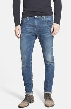 Scotch & Soda 'Jacksonville' Skinny Fit Stretch Jeans (Denim Blue)