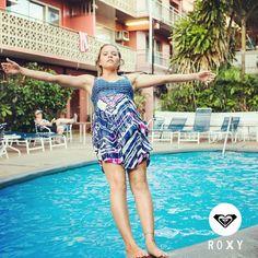 Enfoca tus pensamientos y libera tu ser junto a #ROXY #Colombia #Vestidos