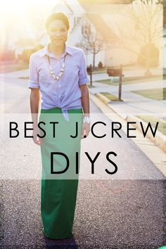 Bromeliad: Best J. Crew DIY projects - Fashion and home decor DIY and inspiration