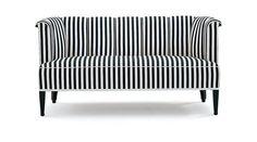 Josef Hoffmann - striped sofa
