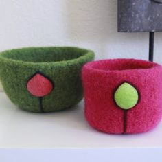 Wildly Woolly: Felted Bowl Set