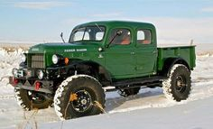 Check out this Dodge Power Wagon built by Legacy Classic Trucks. Dodge Trucks, Cool Trucks, Pickup Trucks, Cool Cars, Tonka Trucks, Small Trucks, Dodge Power Wagon, Dodge Wagon, Legacy Power Wagon