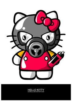 Exterminator Hello Kitty Jdm Stickers 2815ba405657