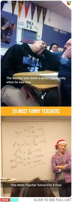 20 Teachers With Proficient Sense of Humour #students #teachers #photos #funnypictures #humour #bemethis