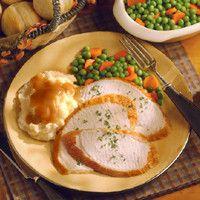 Brined & Roasted Turkey Breast