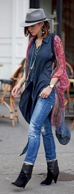Long Boho Layers Outfit Idea   Street Boho  Les Babioles de Zoé