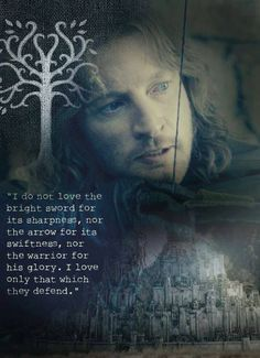 Faramir is one of my favorite Lord of the Rings characters!