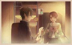 Ryoma x sakuno The Prince Of Tennis, Anime Couples, Flower Girl Dresses, Manga, Artist, Pictures, Wedding, Life, Ship