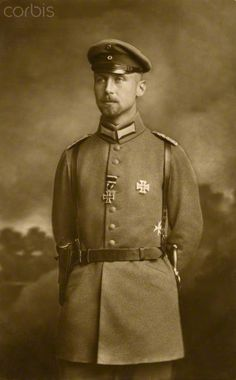 Oscar of Prussia (1888-1958), prince of the House of Hohenzollern and German general, born in Potsdam (Germany). Ca. 1915.