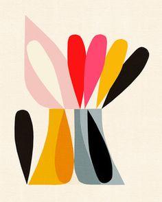 Inaluxe - für Inaluxe schwärme ich. Interessante Künstler, klare Linien, selbstbewusste Farbzusammensetzung.