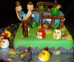 Angry birds...(By)  Addie's birthday cake for sure!!!!!
