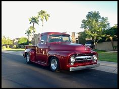 1956 F100 Big window