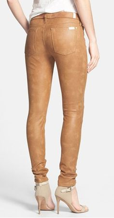 7 for All Mankind Faux Leather Skinny Pants @Nordstrom  http://rstyle.me/n/fe4q3nyg6